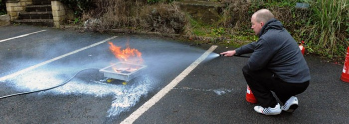 Practical Fire Extinguisher Course