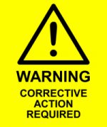 Corrective Action Label